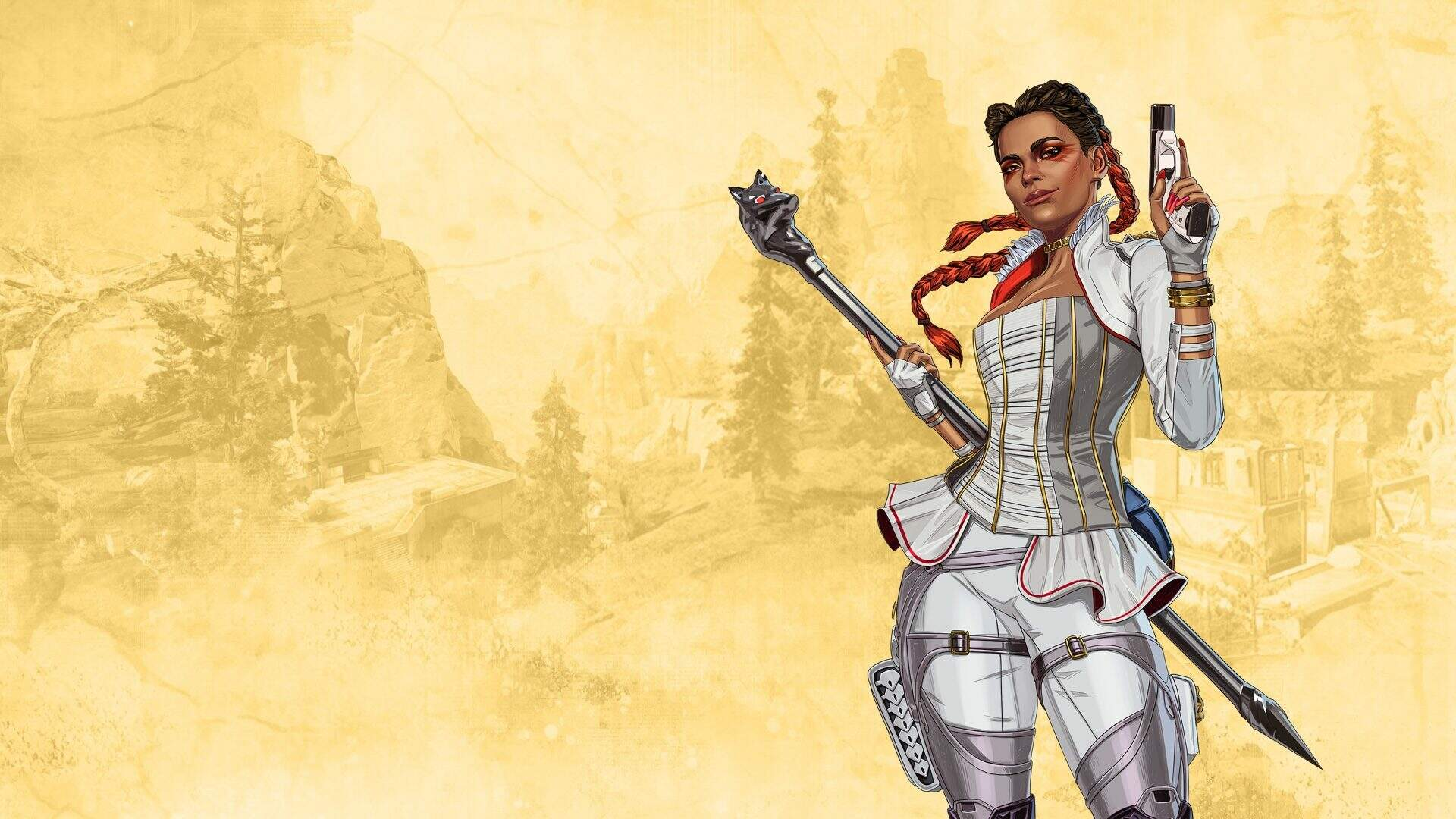Apex Legends' Newest Character Is Already Sneaking Around the Main Menu Screen
