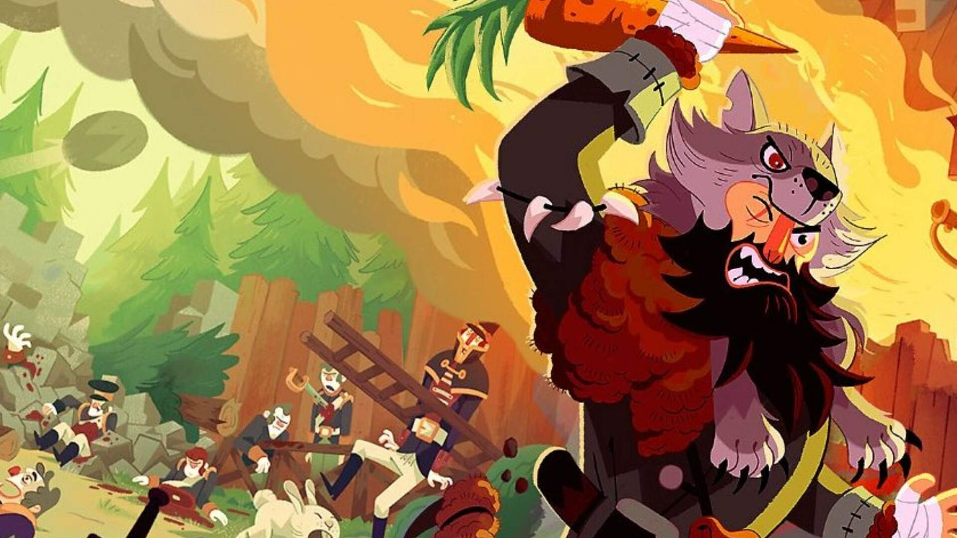 Bloodroots' Boss Fights Are a Bloody Riot