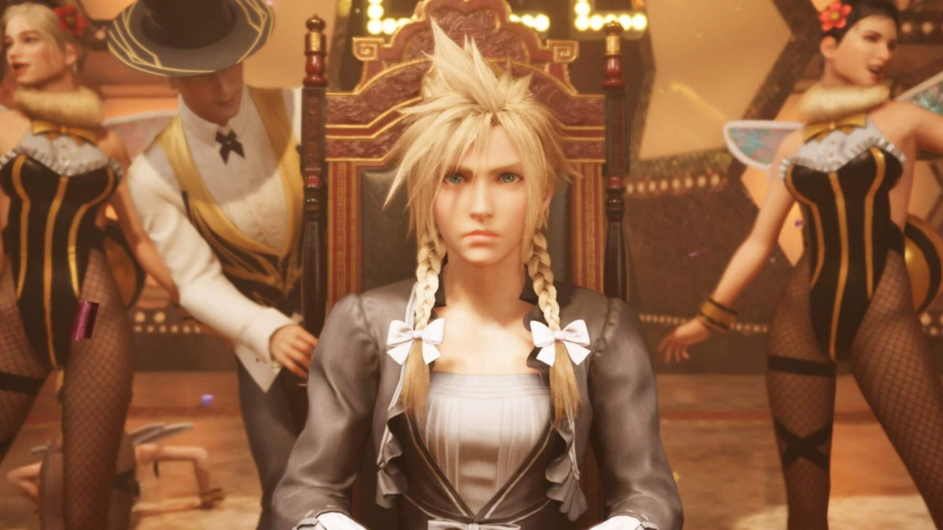 There's Something Fishy About Final Fantasy 7 Remake's Sleazy Wall Market