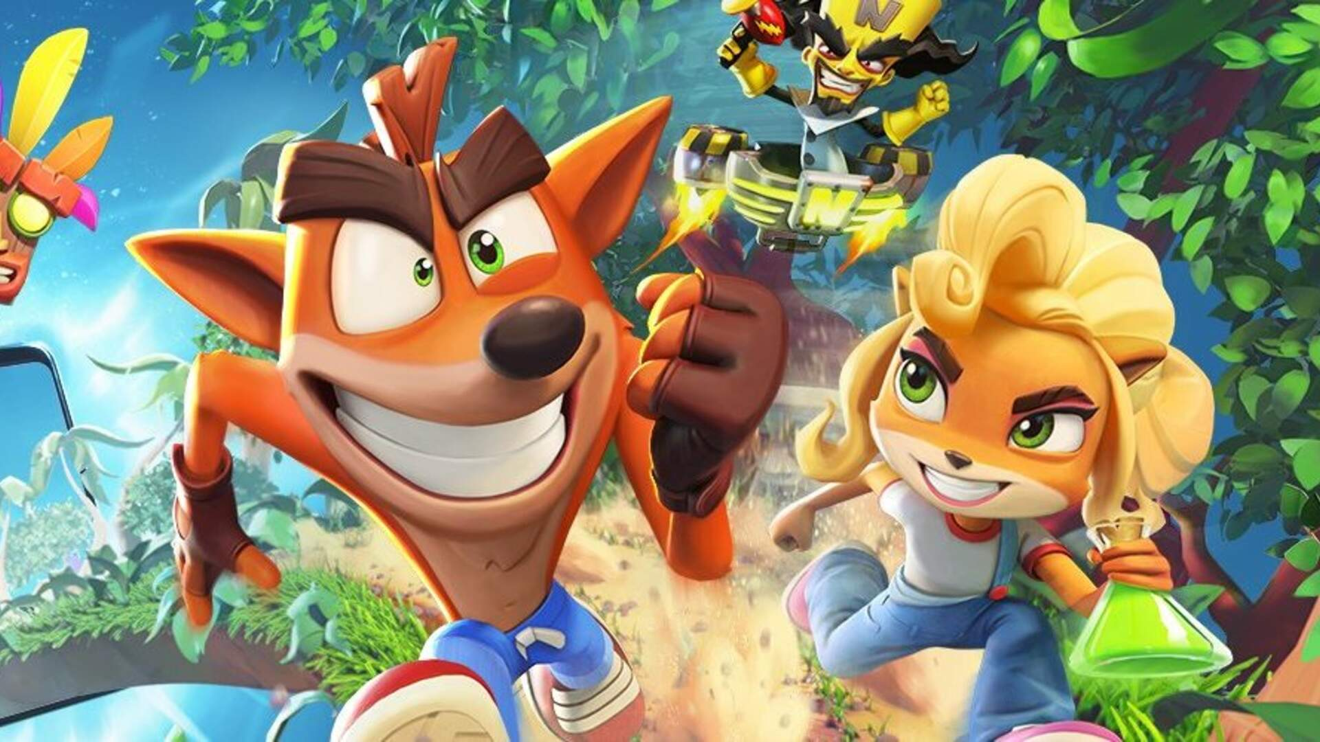 After Many Leaks, Crash Bandicoot: On the Run is Revealed for Mobile