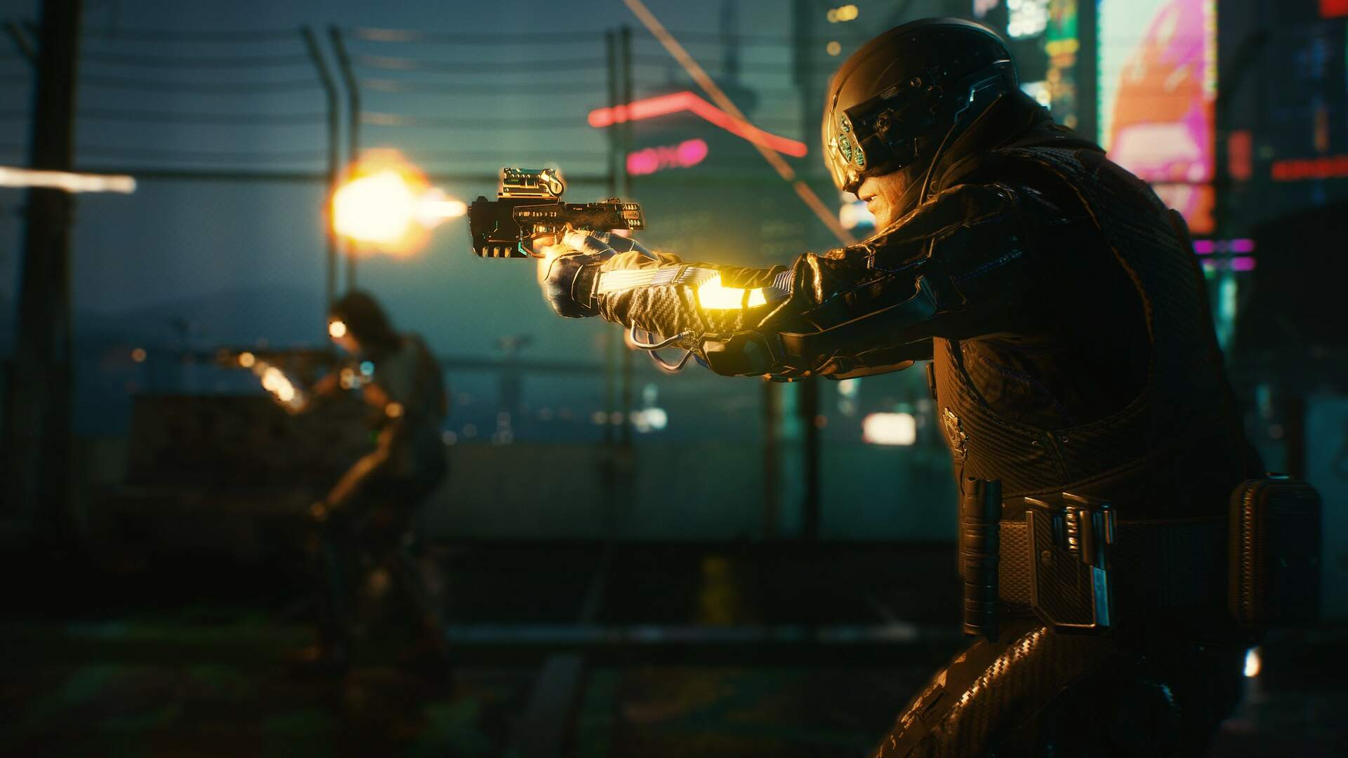Cyberpunk 2077 Screenshot Shows the Psycho Squad's 7-Year Redesign