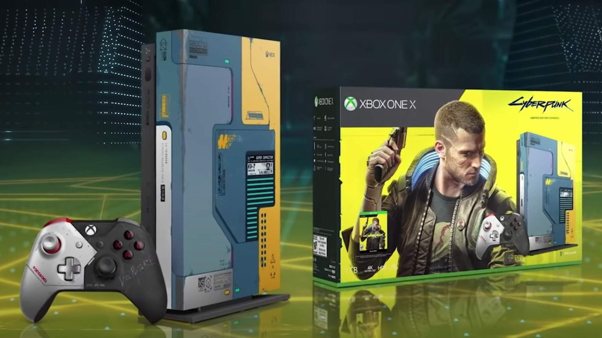 A Special Edition Cyberpunk 2077 Xbox One X Is Coming in June