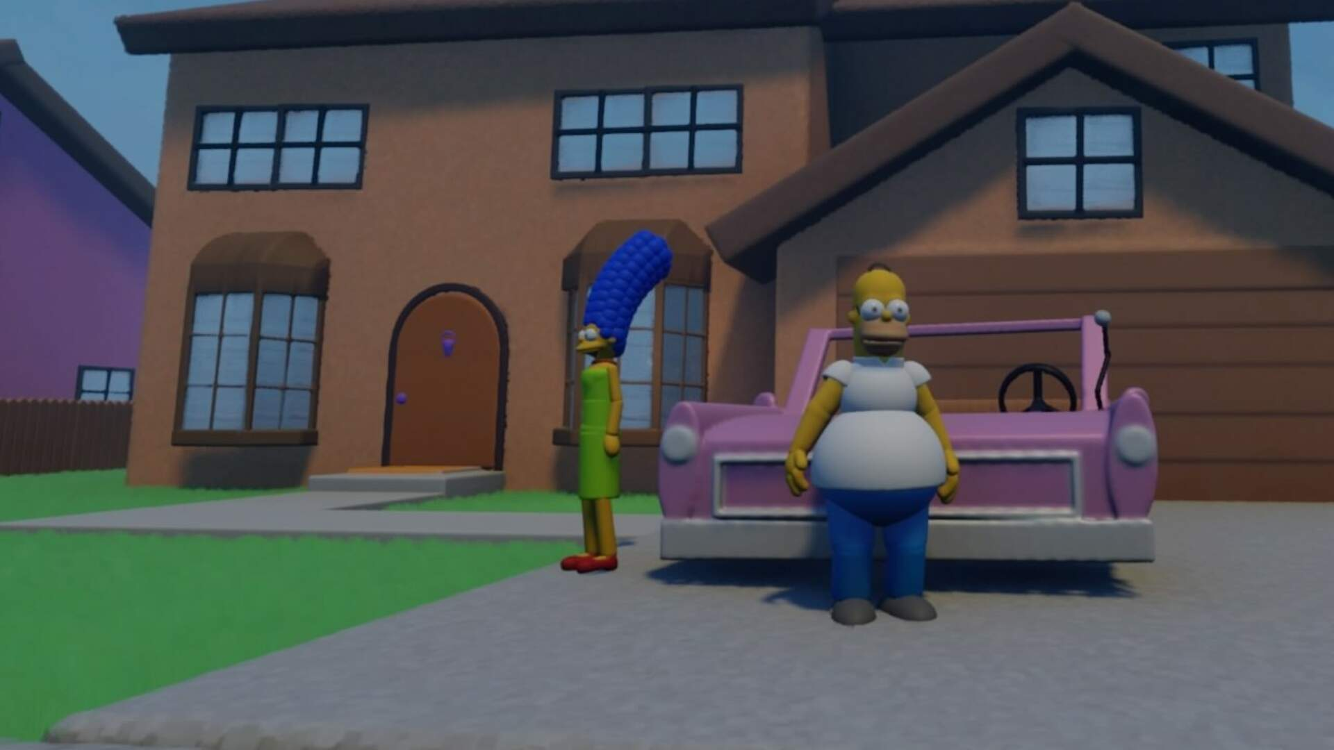 The Simpsons Hit & Run Has Been Remade in Dreams