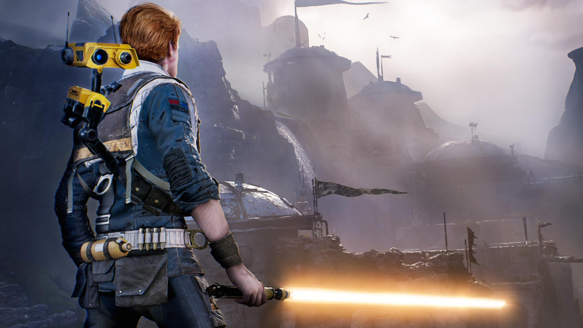 Everyone Can Have An Orange Lightsaber In Star Wars Jedi Fallen Order Now As A Treat Usgamer