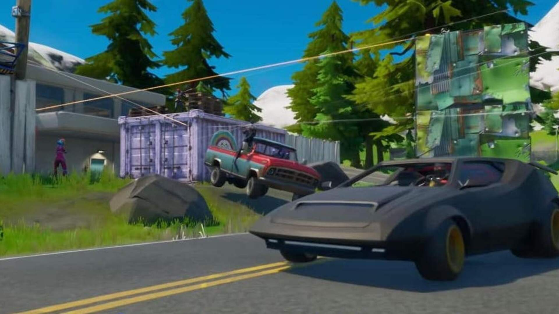 Fortnite's Cars Update is Still a Few Weeks Away
