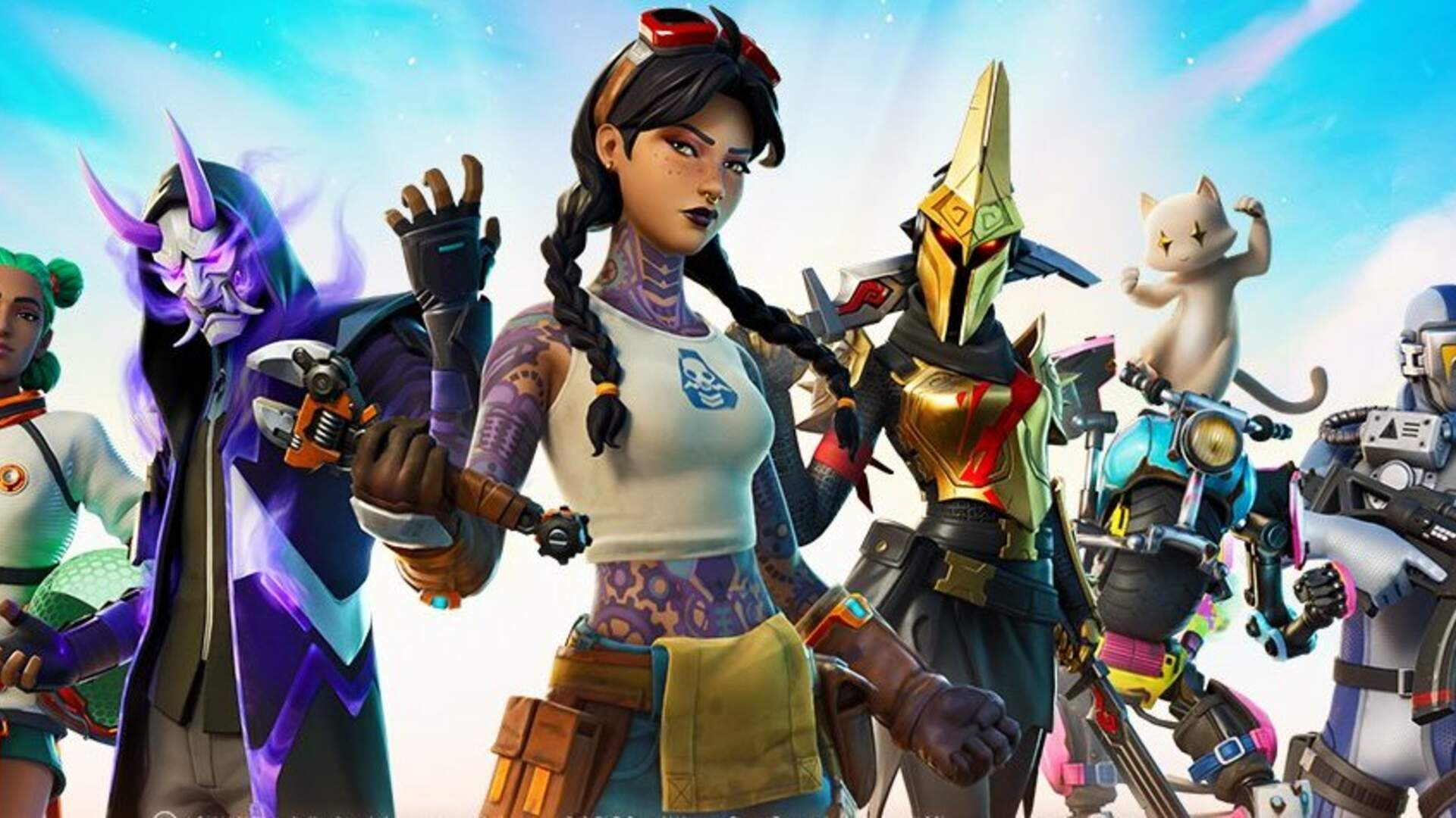 Fortnite Chapter 2 Season 3 Introduces Aquaman A Cat In A Mech Rideable Sharks And More Usgamer