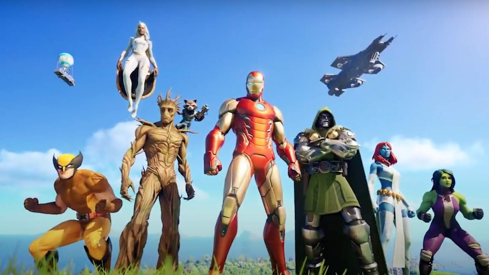 Fortnite Chapter 2: Season 4 Introduces Thor, Wolverine, She-Hulk, and More Marvel Characters