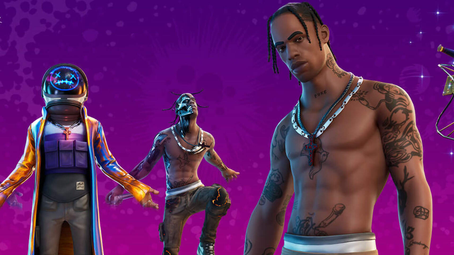 Fortnite Hits a New Concurrent Player Record With Travis Scott's Concert