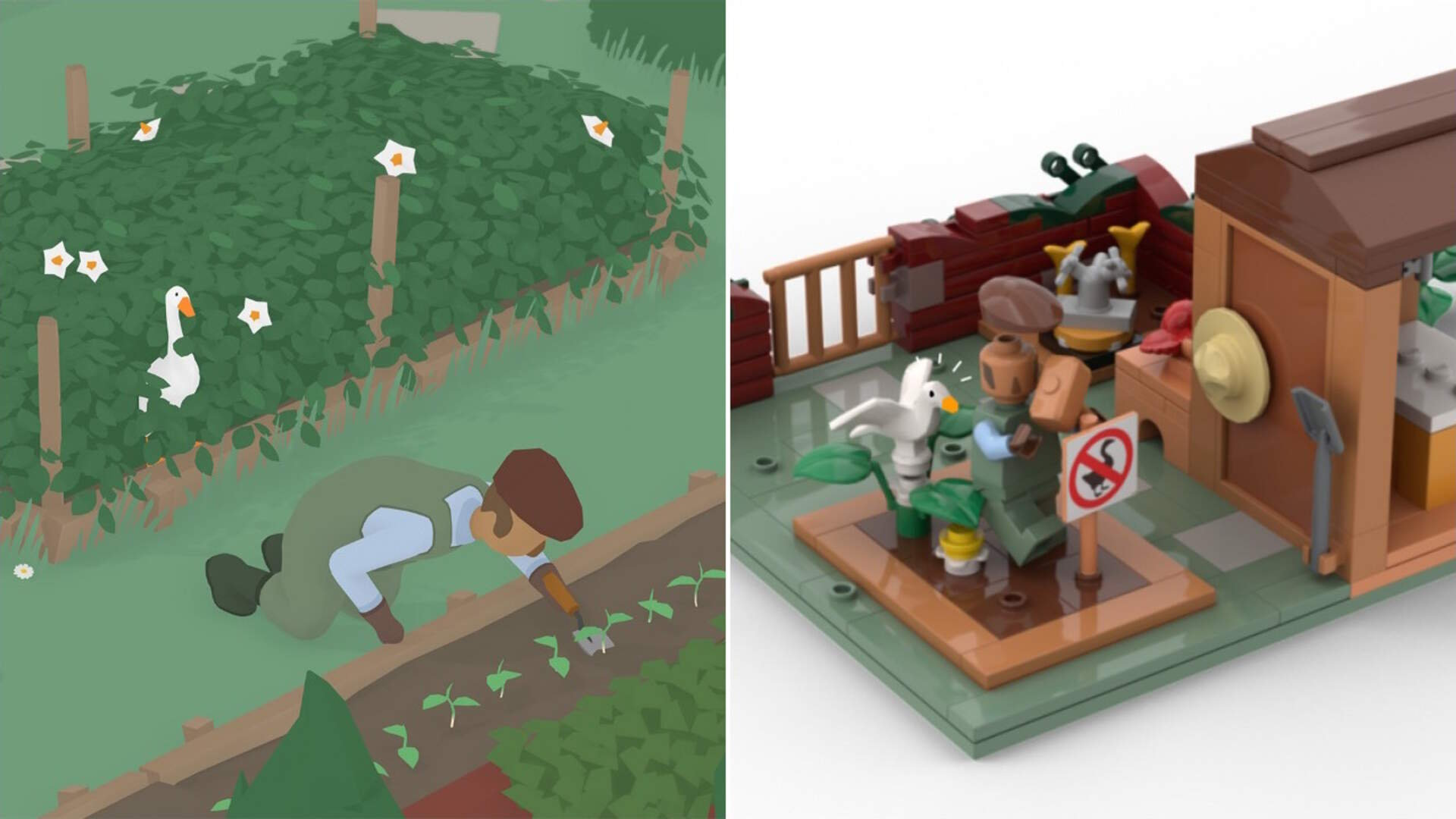 Untitled Goose Game Has a Real Shot at Getting an Official Lego Set