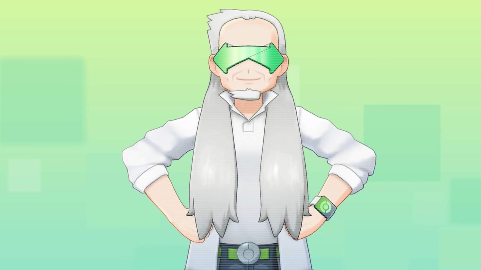 Pokemon Home's Professor Grand Oak is a Chaotic Grandpa, and the Memes Are Writing Themselves