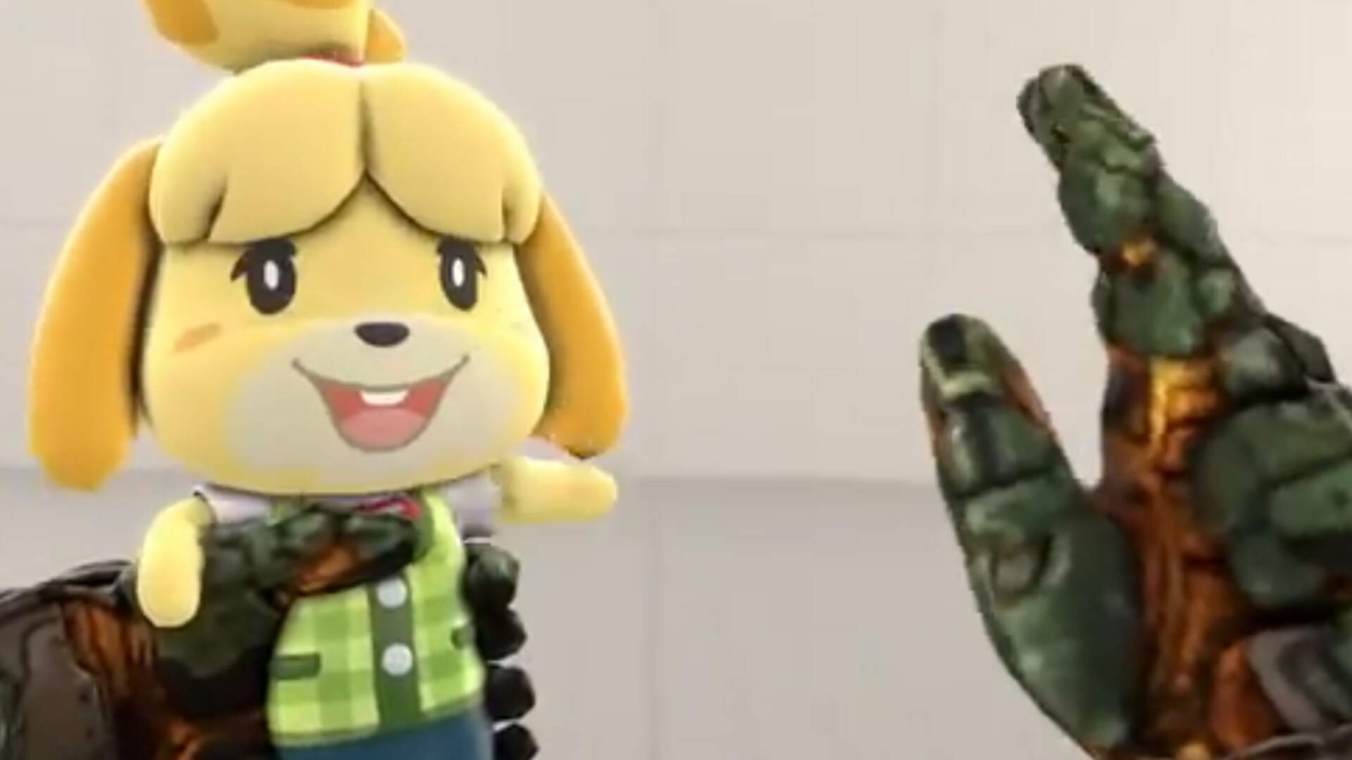 These Isabelle and Doomslayer Animations Are Adorable