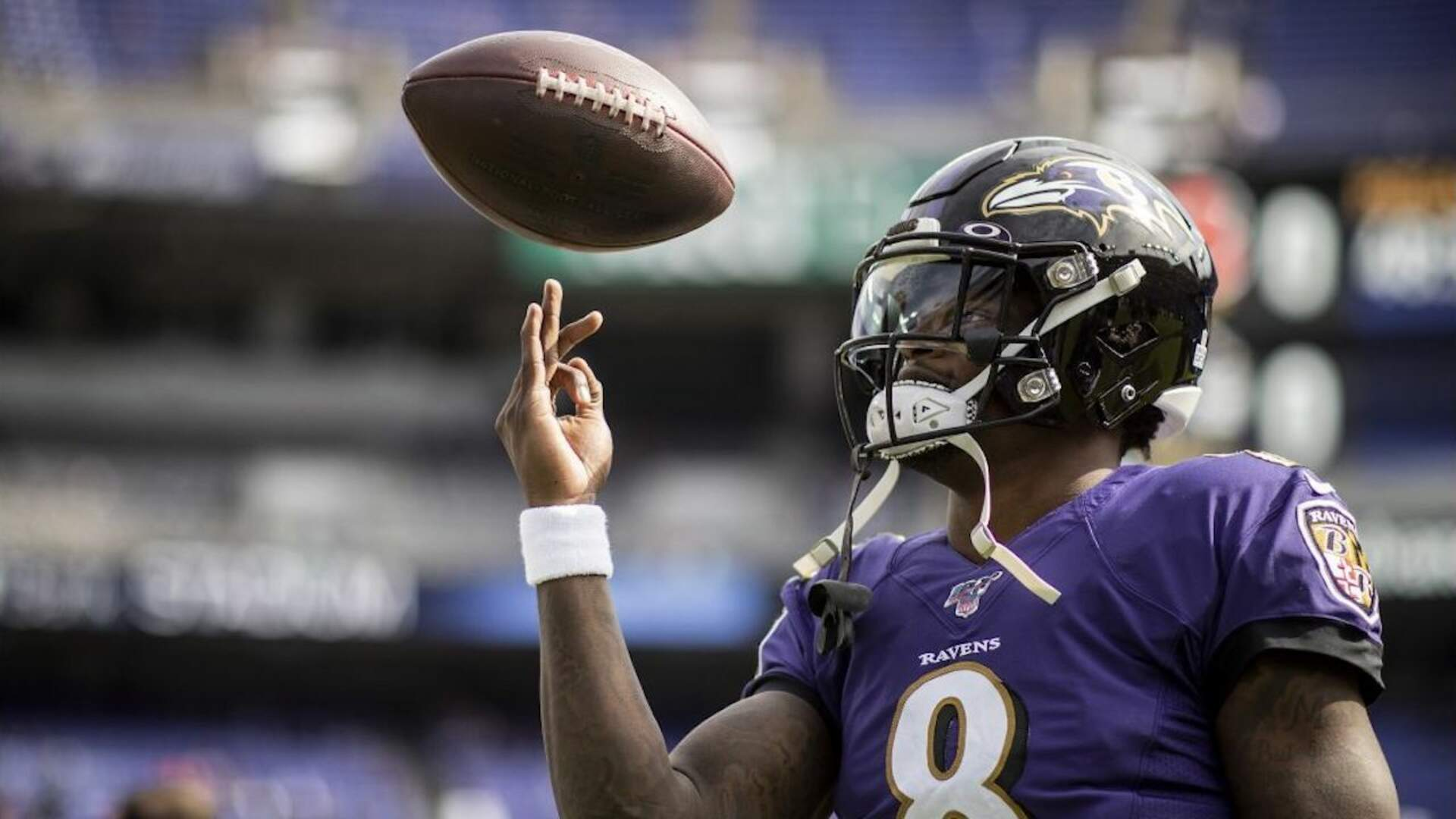 Ravens Quarterback Lamar Jackson Jumps the Gun on His Madden 21 Cover Reveal