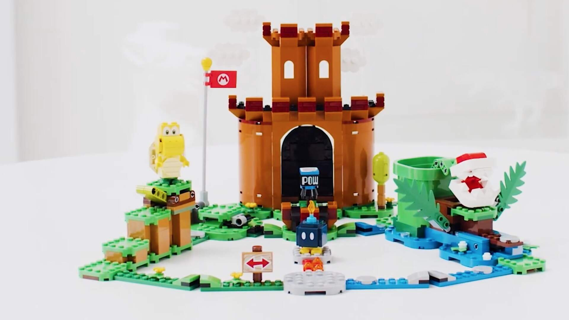 New Lego Mario Sets Introduce Yoshi, King Boo, Koopa Troopa, and More