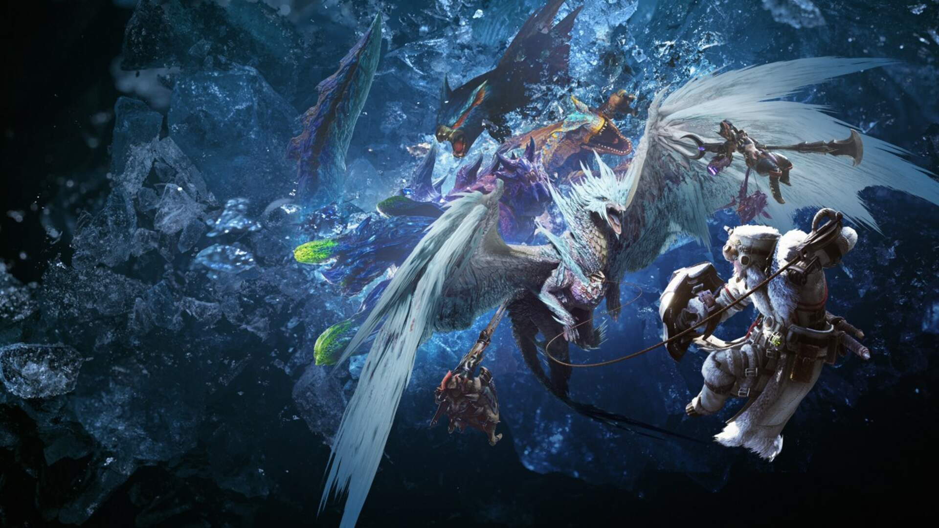 Does It Hold Up The State Of Monster Hunter World Iceborne Now That It S On Pc Usgamer