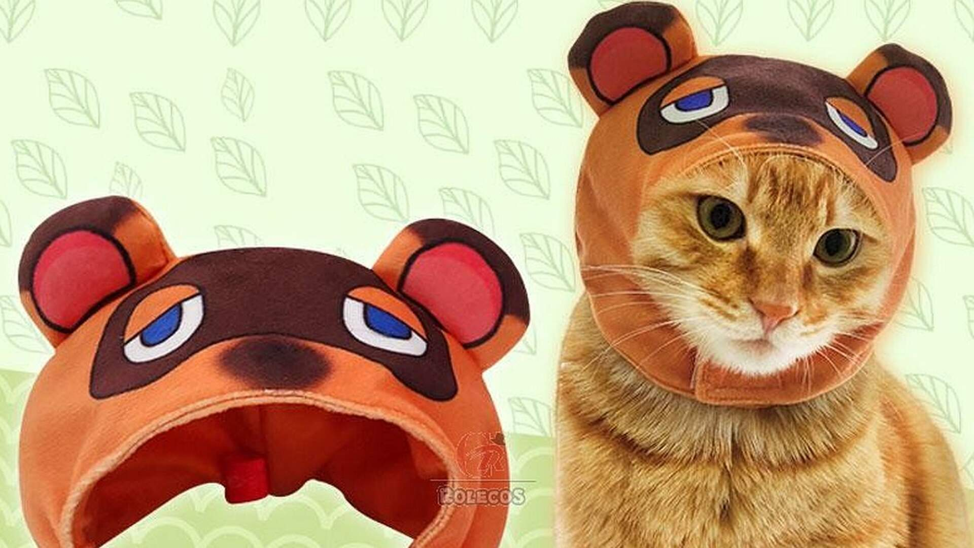 Animal Crossing Cat Cosplay Items Will Encourage Your Cat to Pee in Your Shoes