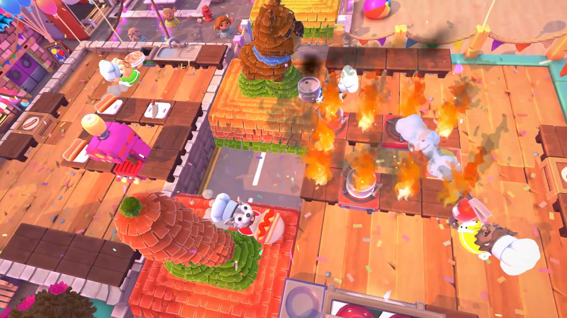 Overcooked 2's Free Summer DLC, Including Two Dog Chefs, Goes Live Today