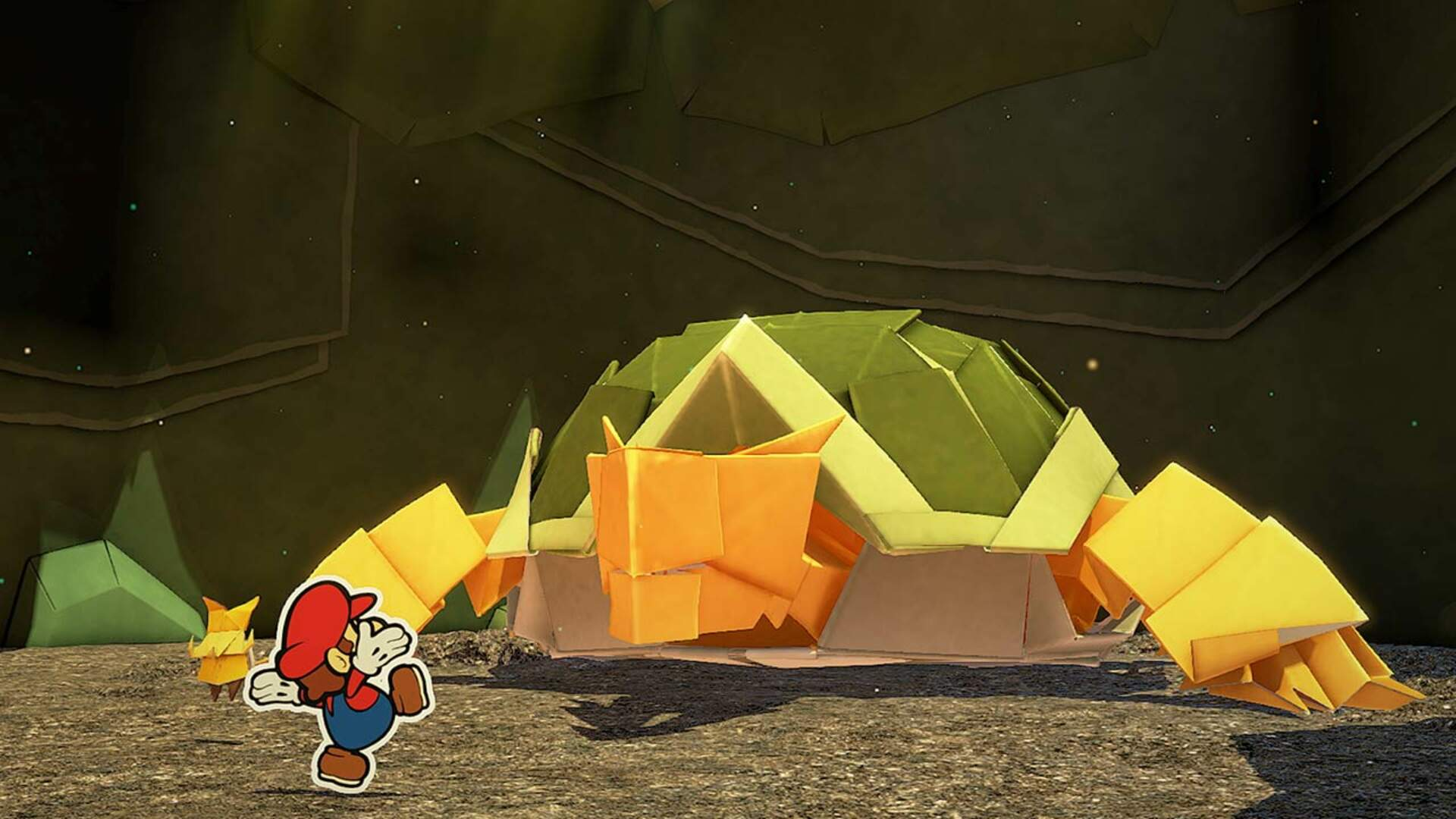 New Video for Paper Mario: The Origami King Shows Off Bloodthirsty Household Objects