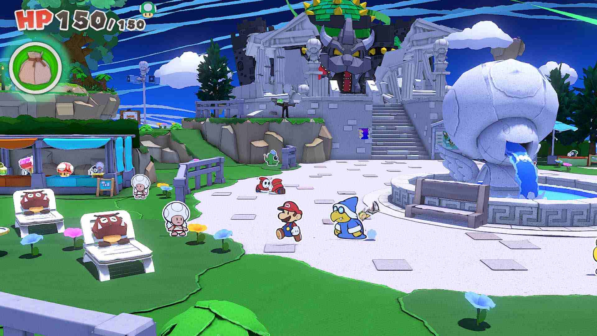 Paper Mario The Origami King Review Know When To Fold Em Usgamer