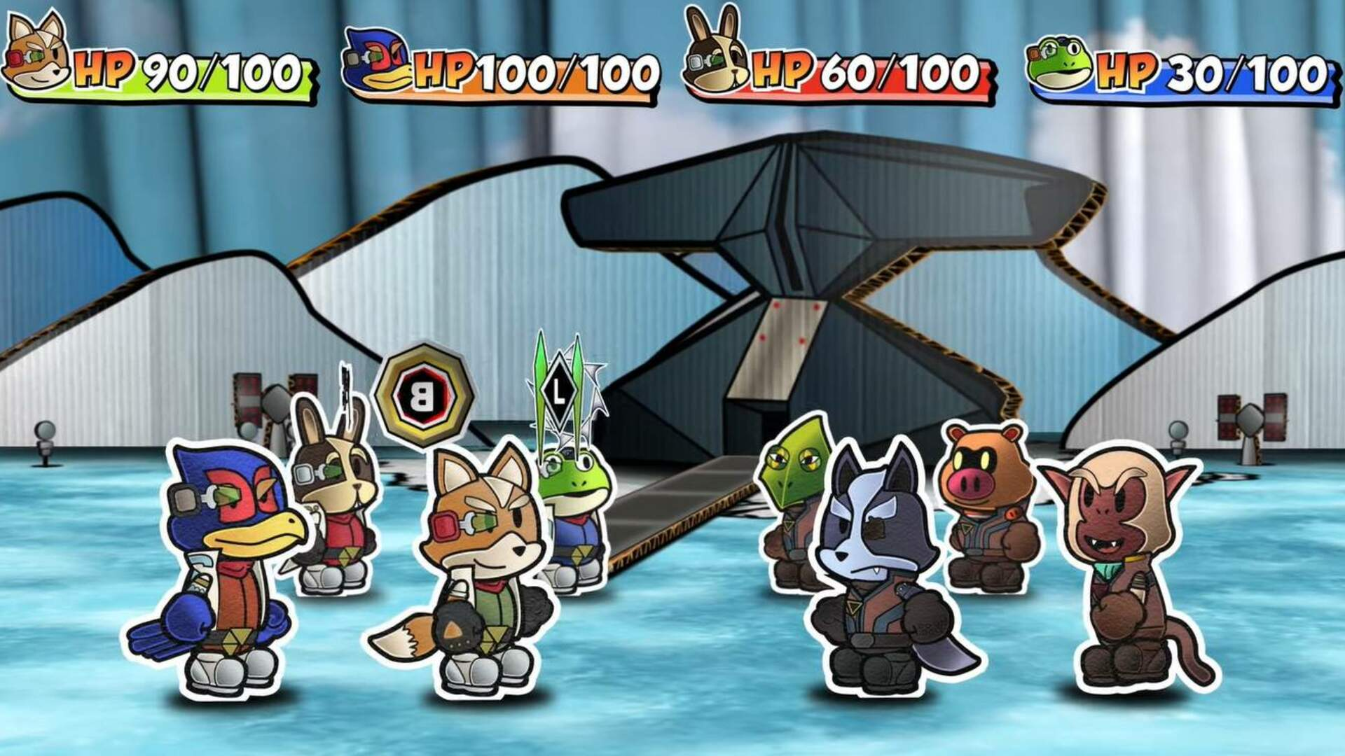 Fan Turns Star Fox 64 Into a Paper Mario-Style Pop-Up Book