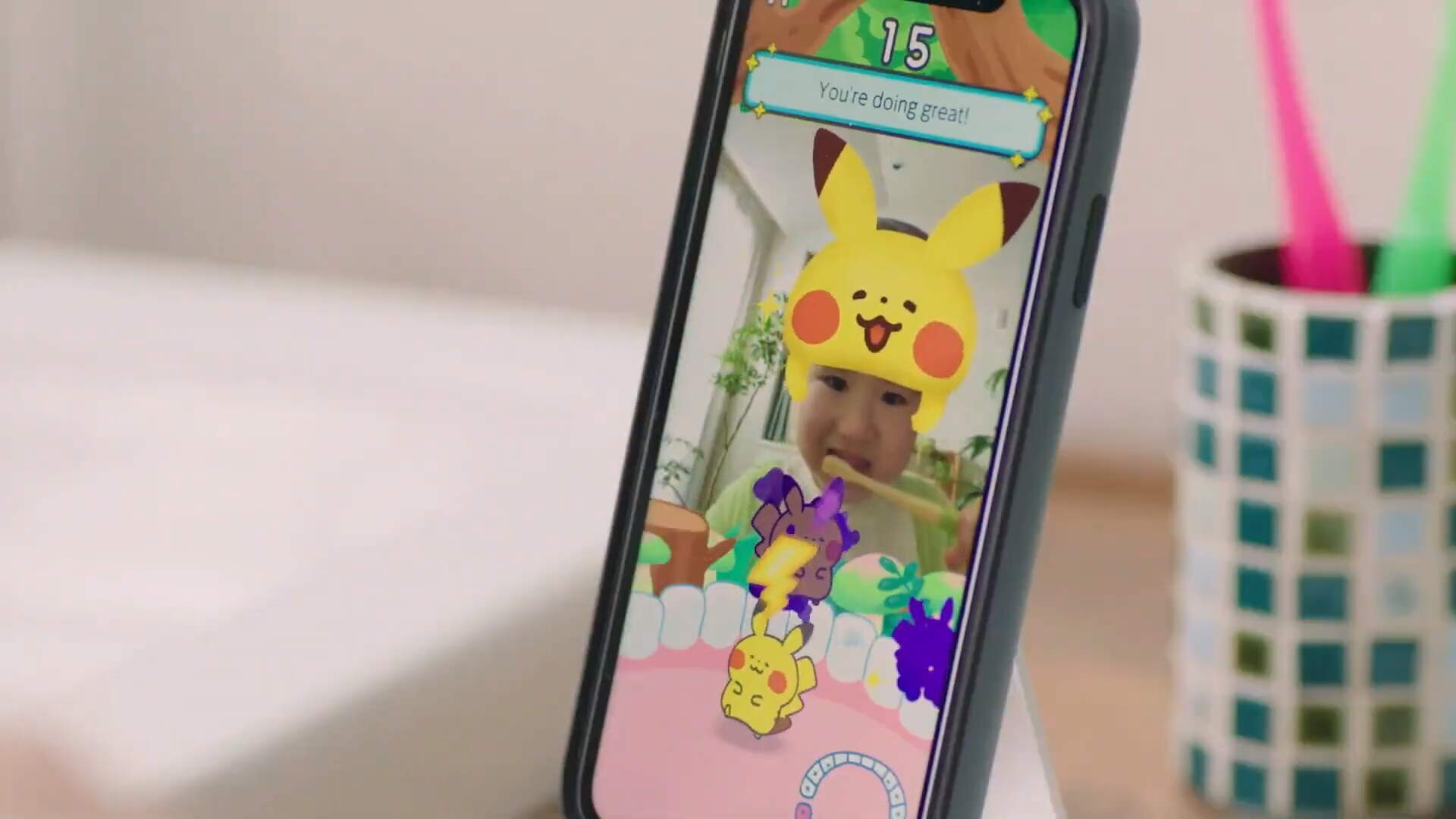 Pokemon Smile Will Help Your Kids Brush Their Teeth, The Pokemon Company Hopes