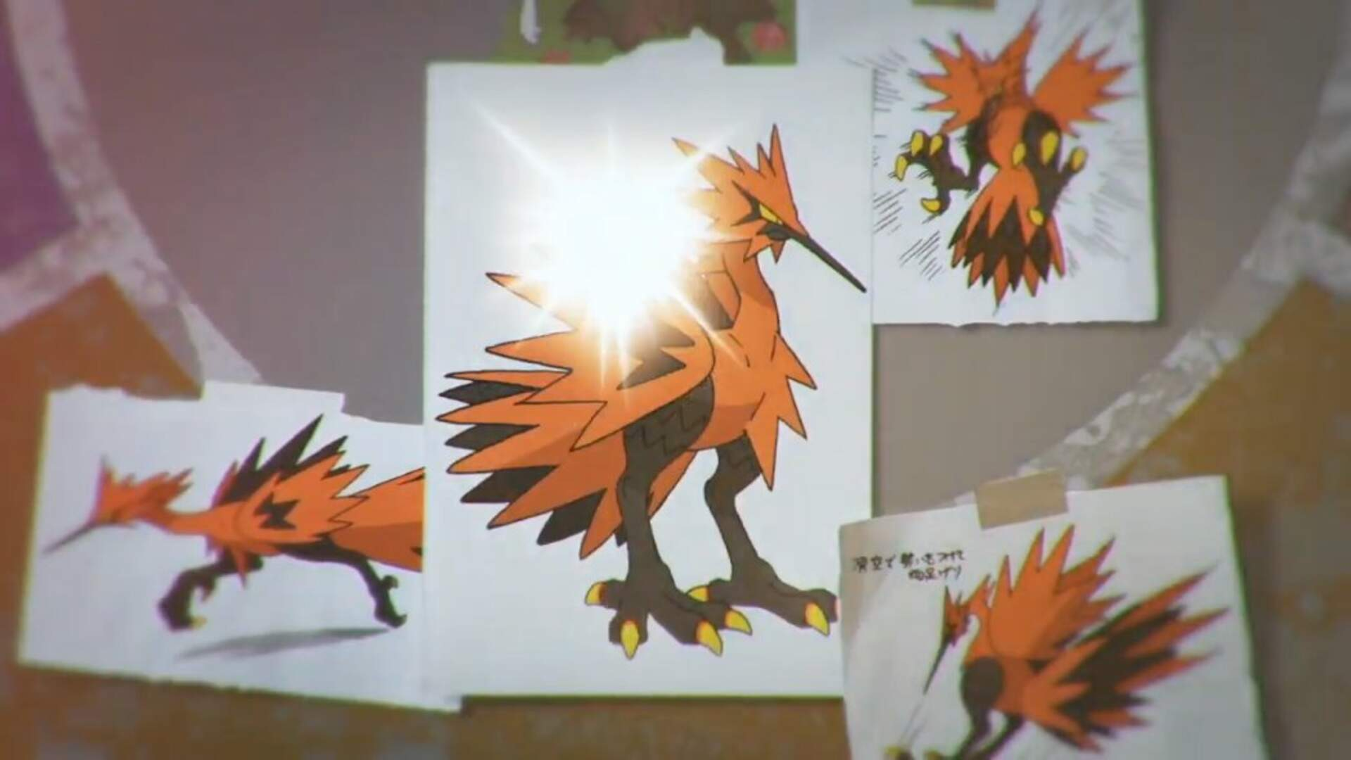 Here's Galarian Articuno, Moltres, and Zapdos in Pokemon Sword and Shield
