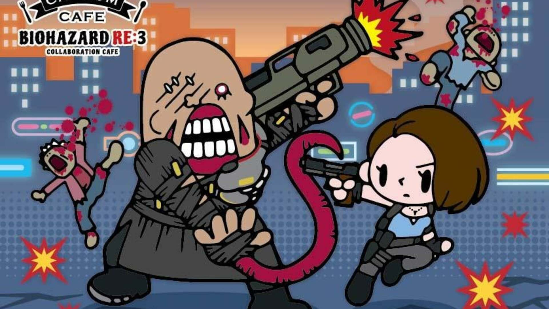 Resident Evil 3 Comes to Capcom Cafe in Japan This Month