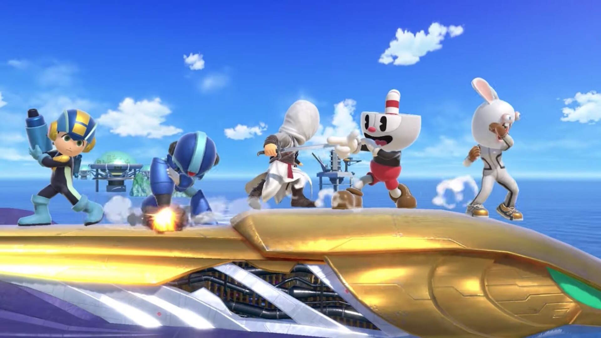 Cuphead, Altair, and More Joining Super Smash Bros. Ultimate as Mii Fighter Costumes