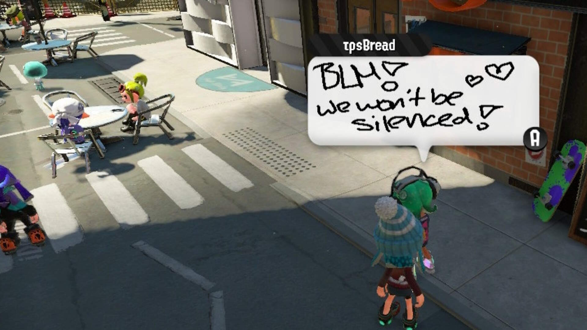 Animal Crossing and Splatoon 2 Players Unite for Virtual Black Lives Matter Protests