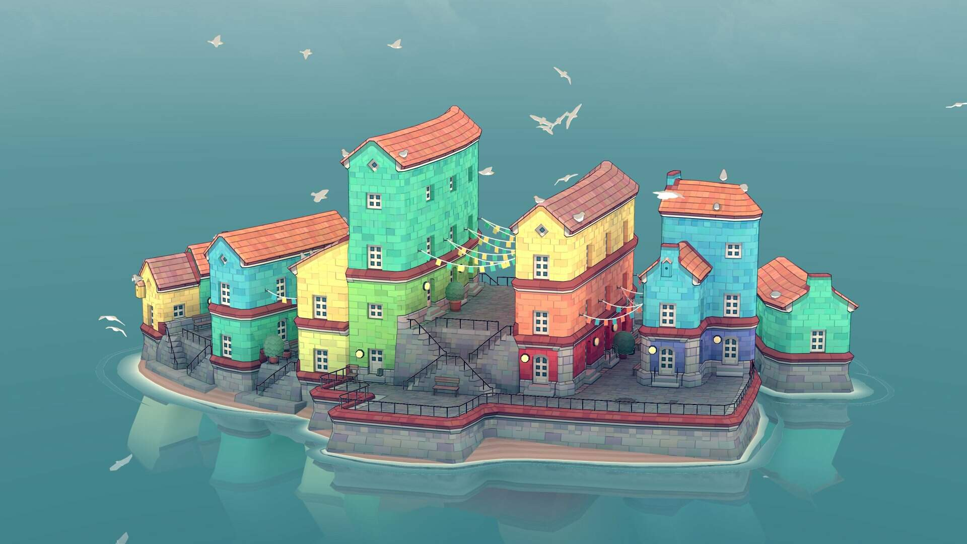 Townscaper Is a Relaxing Town-Building Toy From a Dev Behind Bad North