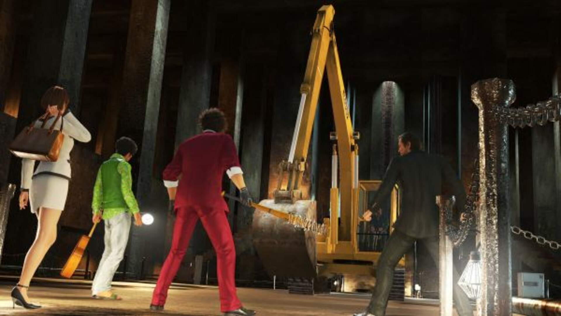 Yakuza: Like a Dragon Adds Dungeons to its RPG Systems
