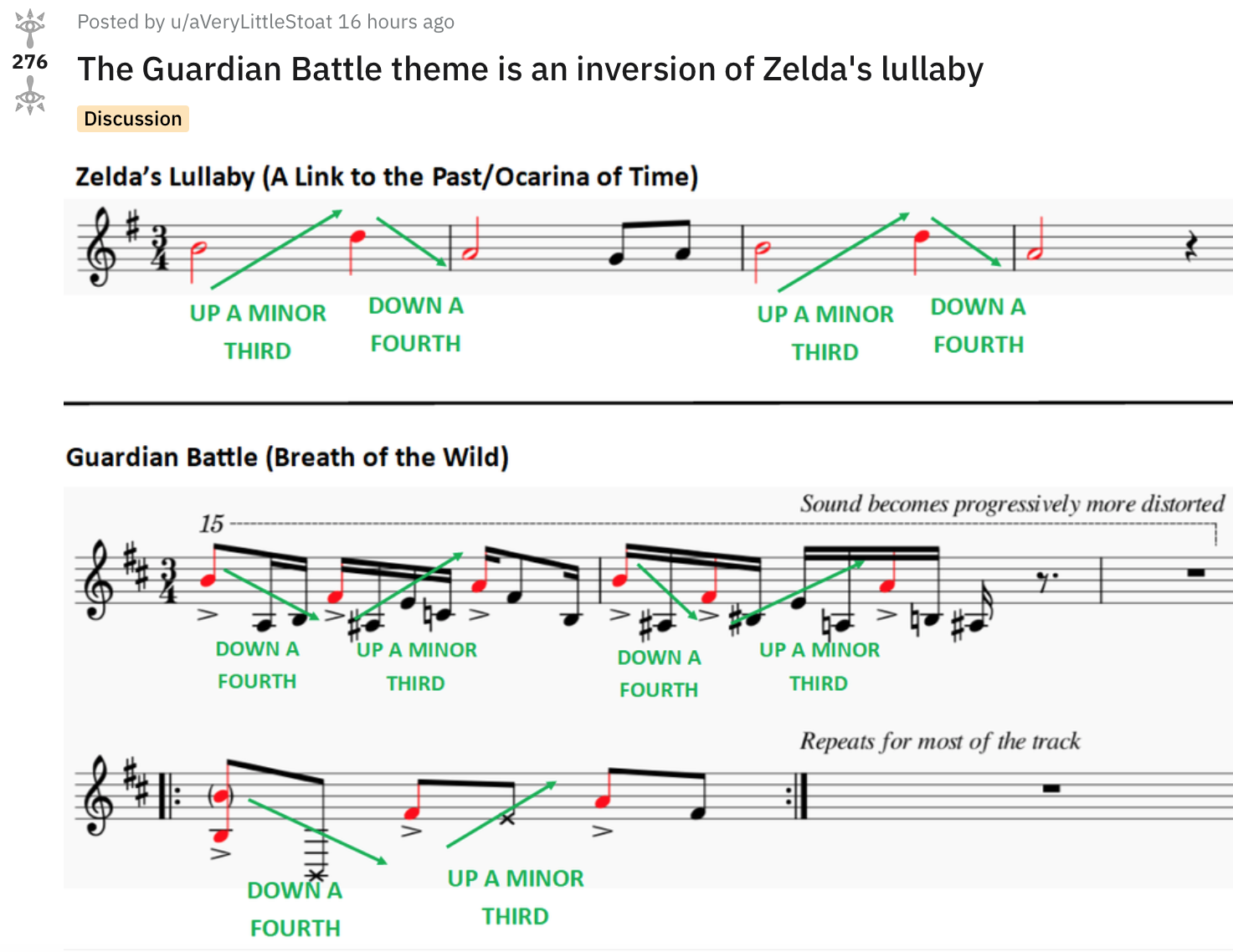 Turns Out Breath Of The Wild S Guardian Battle Theme Is An Inversion Of Zelda S Lullaby Usgamer