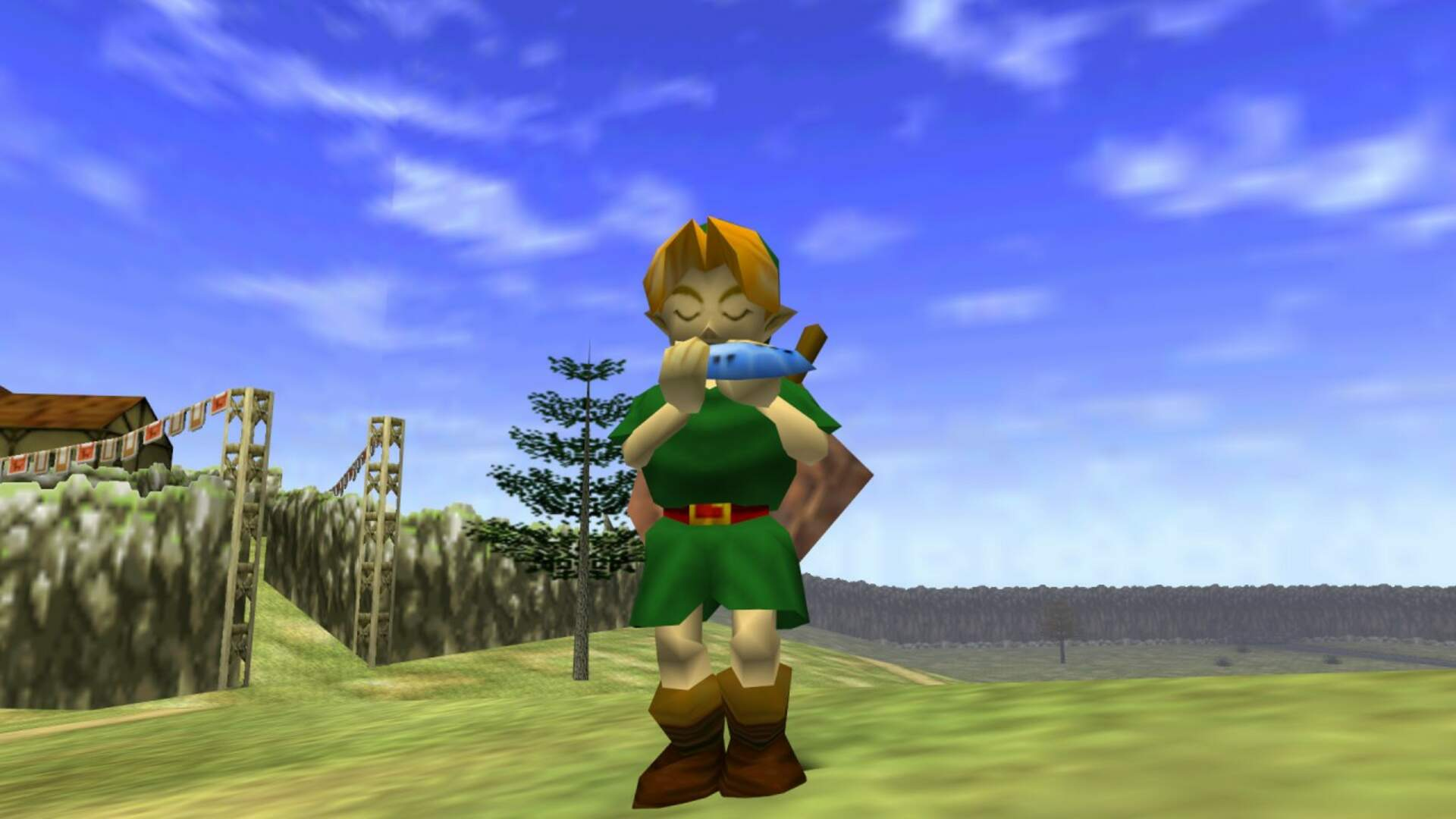 Newly-Revealed Legend of Zelda: Ocarina of Time VHS Beta Footage Shows Off Big Last-Minute Changes
