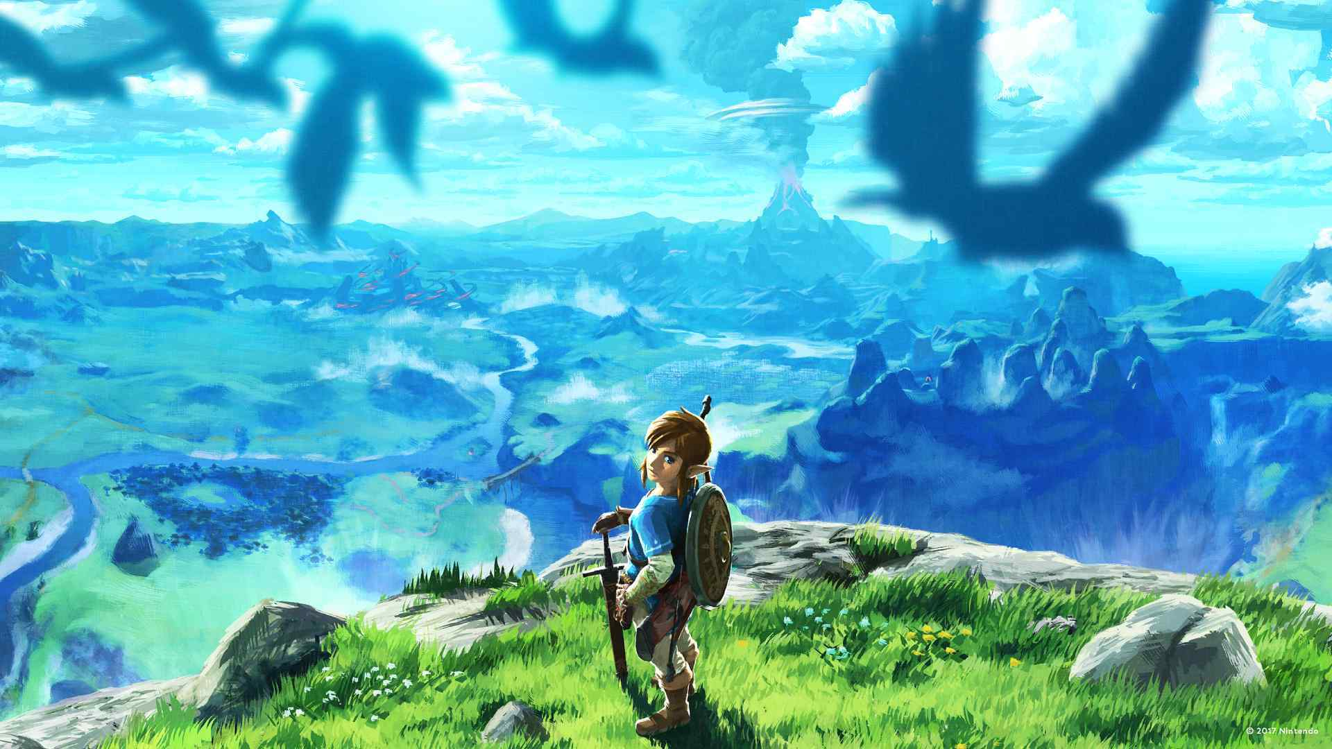 Nintendo Releases Tons of Wallpapers to Brighten Up Your Zoom Calls