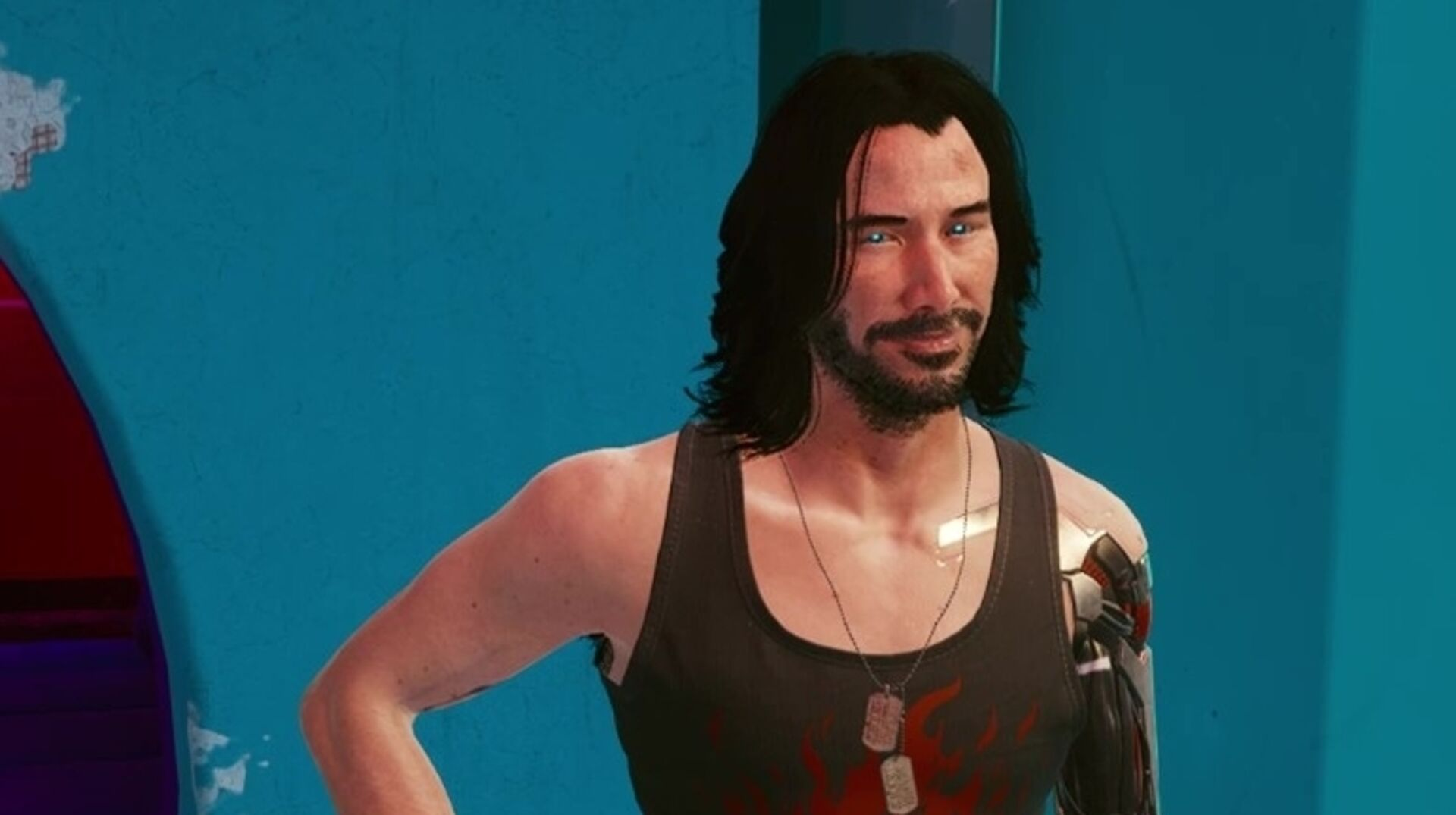 People are modding Cyberpunk 2077 to have sex with Keanu Reeves' character  • Eurogamer.net