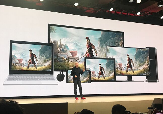 Google Stadia made a big launch at GDC 2019