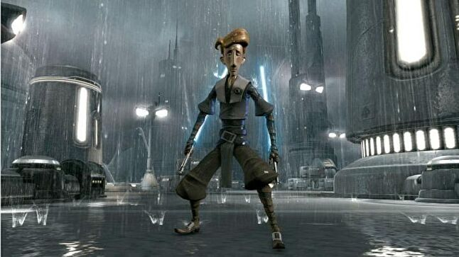 Guybrush Threepwood in the Force Unleashed 2