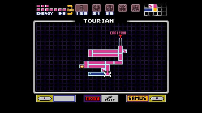 The map in Super Metroid is an essential part of the game