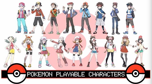 While Pokémon has portrayed some diversity in secondary characters, protagonists all stem from the same default