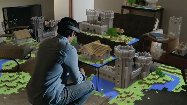 Despite a Minecraft demo being key to HoloLens' initial appeal, the product has since become positioned as more of an industry tool than a consumer product