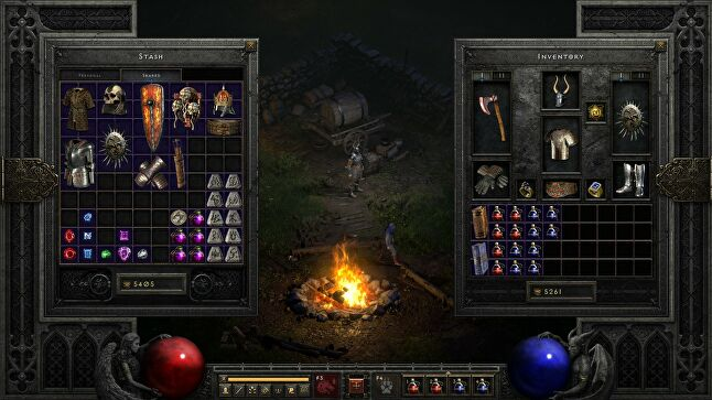 Diablo II's color-coded item system has since been used to indicate higher value for in-game purchases in mobile games