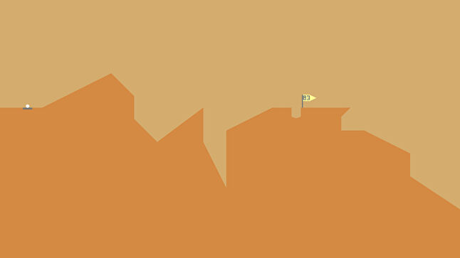 Desert Golfing is a prime example of how the play patterns of sports can make for a compelling game, even without licensed players and other aspects