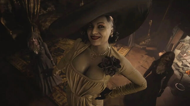 Village's Lady Dimutrescu has already become one of the most iconic faces of the Resident Evil series