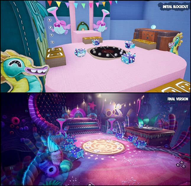 'Choral Reef', featuring the song 'Let's Dance'. Images captured in editor on PC