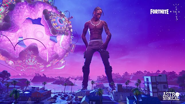 Scott Travis impact fortnito concert was larger than life