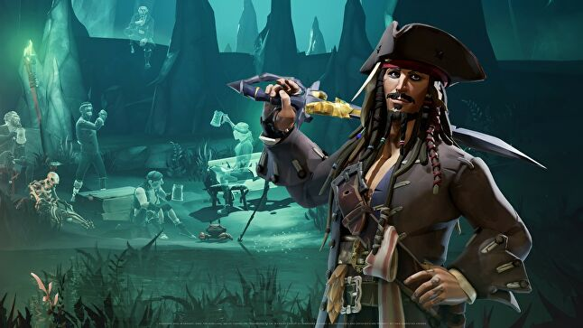 Rare pitched a Sea of Thieves/Pirates of the Caribbean collaboration to Disney and the Hollywood giant deemed it too good an opportunity to pass up