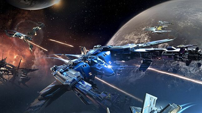 CCP's Eve Valkyrie is the game John Nejady worked on first as a producer