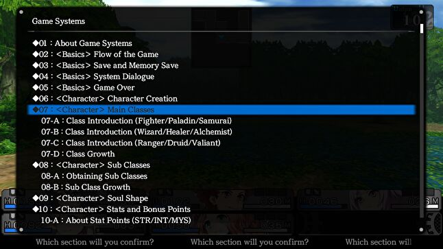 The tutorial text for both games is contained in a separate file