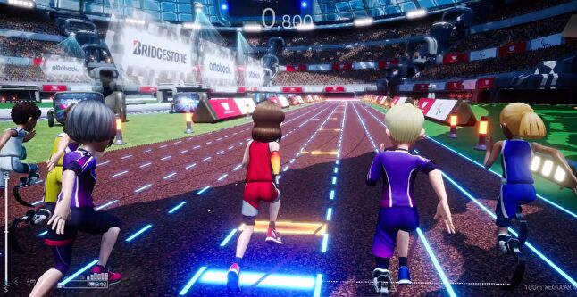 The sports minigames are all developed with simple and accessible controls, where the gear, training and strategy you assign to your avatar has as much impact on your performance as your dexterity