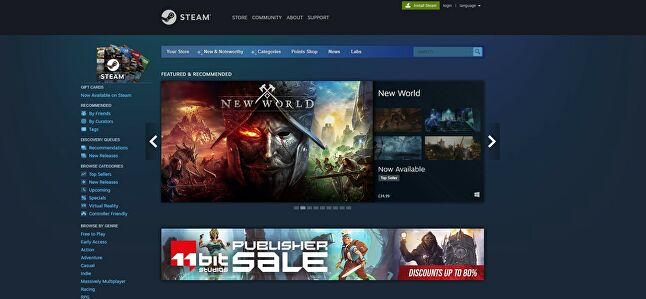 Steam, like Amazon, offers sellers a vast audience to engage with, something other stores have struggled to recreate