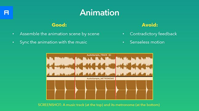 Animation: what's good and what to avoid